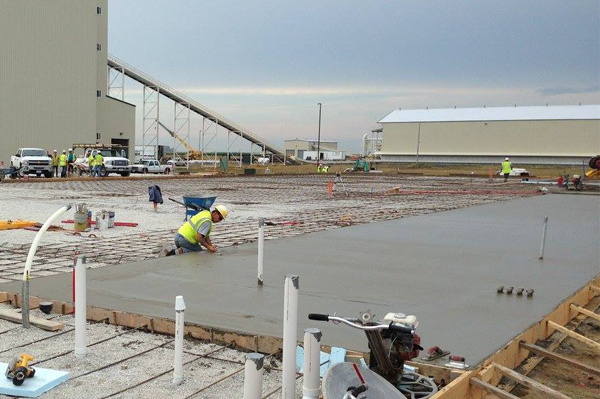 commercial concrete contractor boone ia ames ia